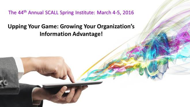 SCALL 2016 Institute logo